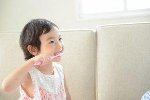 練馬区武蔵関、みたに歯科医院のお子さんの健康な歯、歯みがき指導