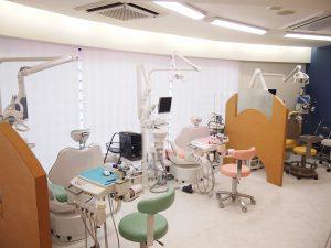 練馬区武蔵関、みたに歯科医院の診察室