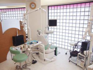 練馬区石神井台 みたに歯科医院の診察室