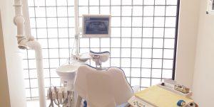 練馬区武蔵関、みたに歯科医院の診察台